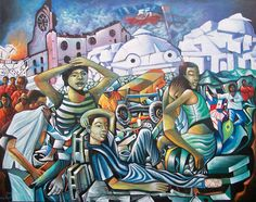 After the earthquake | Haitian Art Gallery by Patrice Piard (For The Glory of Haitian Art) - PatricePiard.com