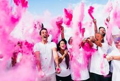 Gender Reveal Powder Bomb