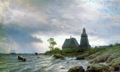 "Tohad on Twitter: ""A world of exploration, the landscapes of Lev Feliksovich Lagorio (1826-1905) :… """