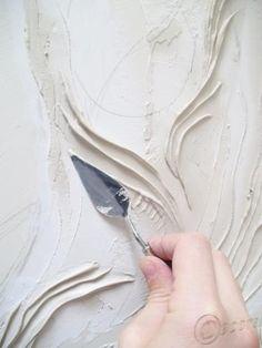 Пример создания объемного панно