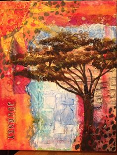 Journey to Africa. LOVE this art.