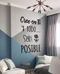 Diy Bedroom Decor, Living Room Decor, Home Decor, Interior Decorating, Interior Design, New Room, Wall Wallpaper, Home Organization, Decoration