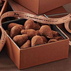 La Maison du Chocolat truffles... so delicious!