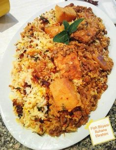 Fish Biryani recipe by Ruhana Ebrahim posted on 26 Nov 2017 . Recipe has a rating of by 5 members and the recipe belongs in the Rice Dishes recipes category Beer Recipes, Rice Recipes, Veggie Recipes, Indian Food Recipes, Real Food Recipes, Indian Foods, Ethnic Recipes, Dishes Recipes, Indian Snacks