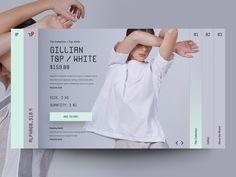 """Fashion Store"" concept card"