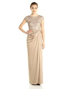 Adrianna Papell Women's Lace and Draped Jersey Gown, Dark Gold, 14 Adrianna Papell http://www.amazon.com/dp/B00XJ7GV3Q/ref=cm_sw_r_pi_dp_HFexwb0RRSWFK