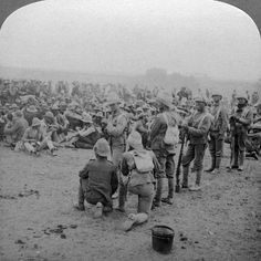 size: Photographic Print: Boer Prisoners Resting on the Road from Paardeberg to Modder River, South Africa, by Underwood & Underwood : Artists British Colonial, Beach Landscape, Military History, Historical Photos, Figurative Art, Prison, Find Art, Framed Artwork, South Africa