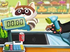 Dr. Pandas Supermarkt | iPad iPhone Kinder Apps