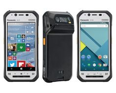 MWC Panasonic intros Toughpad with Android and Toughpad with Windows 10 IoT Mobile Enterprise. Panasonic today added two new rugged handheld tablets to its diverse portfolio of enterprise-grade mobile devices - the Toughpad and Newest Cell Phones, New Phones, Android Phones, Mobile Phones, Windows Phone, Windows 10, What Is Cell, Mobile Watch, Wearable Computer
