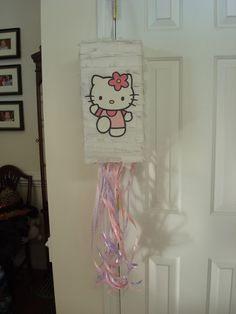 Fancy Frugally: How to make a pull-string pinata from scratch