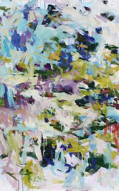 "Karen Silve - Portland Abstract Artist, Here Nor There, 68"" x 42"" #karensilve #ksilve"