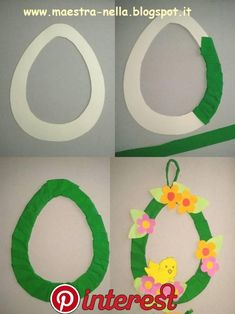 How to Make a Paper Plate Easter Egg Wreath - This colorful paper plate Easter Wreath is a simple and easy Easter Craft idea for kids of all ages to make. Cute DIY Easter decoration for home. Easter Art, Easter Eggs, Diy And Crafts, Paper Crafts, Easter Projects, Easter Activities, Easter Crafts For Kids, Easter Wreaths, Spring Crafts