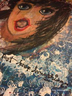 Feb 4th: WDDD - Encouragement Cafe - praise heart Artwork: Lisa Albinus/Praise Heart