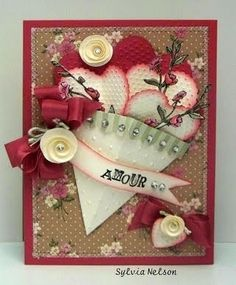 Amour #card by Sylvia Nelson