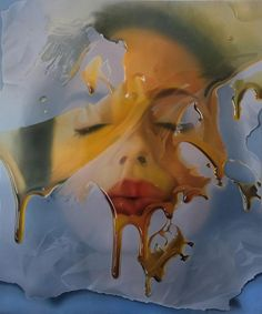 Available for sale from Art Angels , Mike Dargas, Dream Perspective, Oil on canvas, 72 × 60 in Hyperrealism, Photorealism, A Level Art, Banksy, Painted Signs, Figure Painting, Portrait, New Art, Oil On Canvas