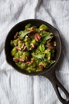 Basil and Pecan Pistou with Parisian Gnocchi - 10 Vegetarian Dishes That Will Make You Swear Off Meat