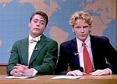 Saturday Night Live has been home to over a hundred cast members throughout the past 35 years. In our column Saturday Night's Children, we present the history, talent, and best sketches of one SNL cast member each week for your viewing, [. 80s Movies, Movie Tv, Robert Downey Jr Young, Snl Cast Members, Judd Nelson, Anthony Michael Hall, Ben Stiller, John Mulaney, Weird Science