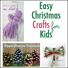 We've rounded up lots of great Christmas crafts and Advent crafts to do with your kids.