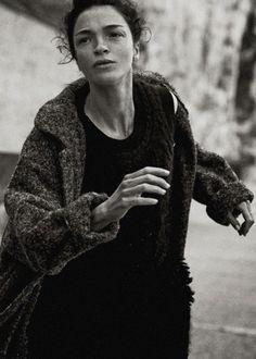 Mariacarla Boscono by Peter Lindbergh for Vogue Italia September 2014