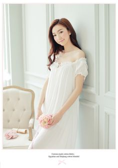 Cheap long nightgown, Buy Quality home dress directly from China nightdress sexy Suppliers: New Arrivals Summer Long Nightgowns O-neck Loose Ladies Dresses Princess Sleep Wear Solid Lace Home Dress Sexy Nightdress Sexy Dresses, Short Sleeve Dresses, Ladies Dresses, White Nightgown, Night Dress For Women, Nightgowns For Women, One Piece Dress, Dress First, Nightwear