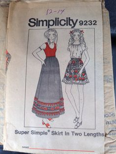 Simplicity 9232