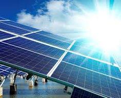 Solar power will red