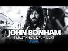 5 Must-Know John Bonham Drum Licks (Drum Lesson) Drum Lessons, Music Lessons, Life Lessons, Drum Sheet Music, Drums Sheet, Drum Tuning, Good Times Bad Times, Drum Patterns, John Bonham