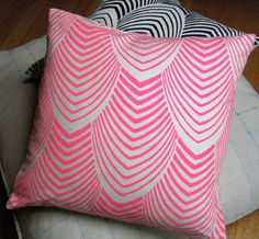 Arches Throw Pillow by NightByrd >> These pillows are really wonderful! Love the colors and pattern!