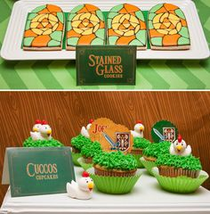 AWESOME Legend of Zelda Birthday Party! Using some of these ideas for the baby shower.