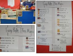 Easy Bake Literacy Center for early grades