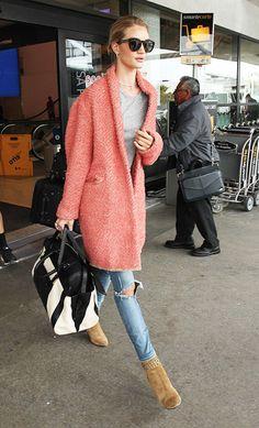 AIRPORT LOOKS: Saiba como viajar quentin... - FashionBreak