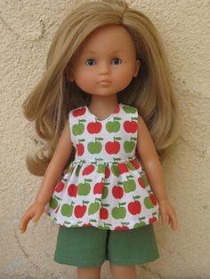 Corolle Les Cheries Doll Top and Pant. $11.99, via Etsy.