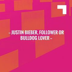 I have a feeling you'll like this one 😍 Justin Bieber, follower or bulldog lover https://www.collectibulldogs.com/justin-bieber-follower-or-bulldog-lover/?utm_campaign=crowdfire&utm_content=crowdfire&utm_medium=social&utm_source=pinterest