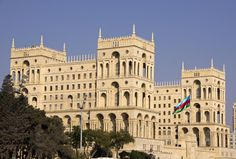 City of Baku along with the Shirvanshah's Palace and Maiden Tower
