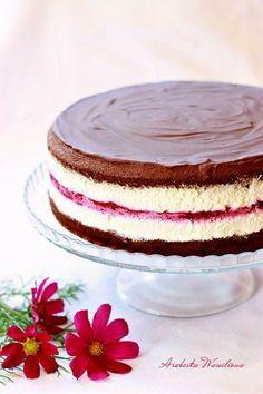 Kinder Pingui z fruzelina2 Bakery Cakes, Food Cakes, Polish Recipes, Homemade Cakes, Vanilla Cake, Cake Recipes, Sweet Tooth, Food And Drink, Cooking Recipes