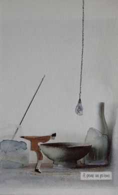 audreyklein.net Incense, Collages, Painting, Art, Ink, Art Background, Painting Art, Kunst, Paintings
