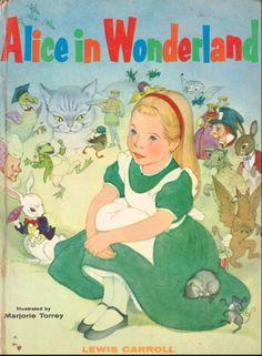 Alice in Wonderland by Lewis Carroll, illustrated by Marjorie Torrey, abridged by Josette Frank (1955)