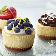 PHILADELPHIA Mini Cheesecakes Recipe | Key Ingredient