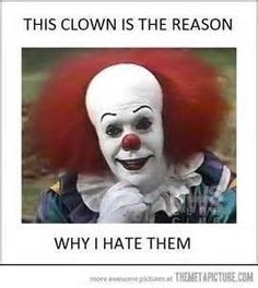 Scary Clown Faces | Images Of Scary Face Clown Funny 4 5 Wallpaper Comment Picture 268x300