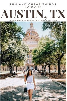 10 Fun and Cheap Things to Do in Austin, Texas - The Traveling Teacher - There's so much to do in Austin! Here's my list of 10 Fun and Cheap Things to Do in Austin, Texas – The Traveling Teacher - Ways To Travel, Best Places To Travel, Cool Places To Visit, Places To Go, Usa Travel Guide, Travel Usa, Fun Travel, Work Travel, Travel Tips