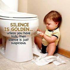 silence is not always golden