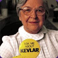 Stephanie Kwolek, inventor of Kevlar.