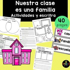 Nuestra clase es una familia Book Study (Our Class is a Family Spanish)