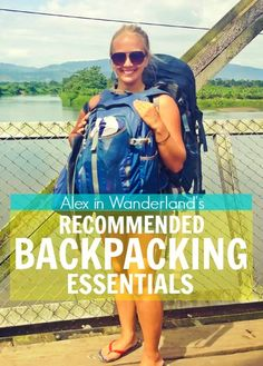 The best photography equipment, luggage, eco-friendly travel accessories and more, recommended by travel blogger @wanderlandalex