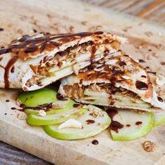 PB Apple Granola Snack Wraps Recipe