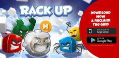 We are soo excited to announce that our new game Rack-up is OUT now!! Check it out and see how far you get before they catch you! http://bit.ly/24VoqyA #indiedev