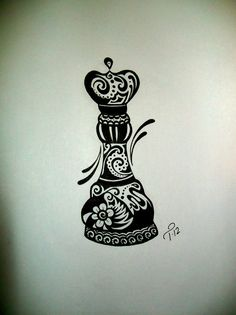 Custom+Ink+Drawing+Black+&+White+Commissioned+Artwork+by+tarren,+$56.00