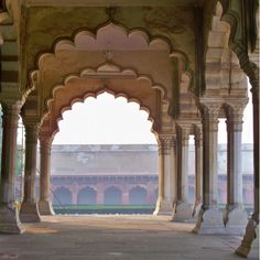 Does this view excite you? It does us just look at those arches India we like your style #zoeandmorgan #love #inspiration #indianarchitecture