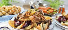 FLM Recipes - Orange Marmalade Roast Turkey With Christmas Stuffing