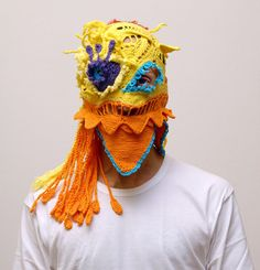 fullbloom:  (via Knitted Masks by Aldo Lanzini)